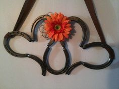 Welded Horseshoe Decorative Heart by UglyDucklingStudios on Etsy