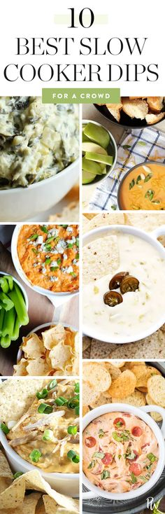 The 10 Best Slow-Cooker Dips for a Crowd
