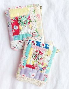 logcabin patchwork pouches | Flickr - Photo Sharing!