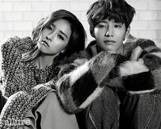 Go here for the first batch of Allure spreads of Song Jae Rim and Kim So Eun.       Source  |  Allure Korea