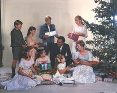 The Sound of Music...The Von Trapp family celebrating Christmas! I LOVE this picture!                https://www.facebook.com/474472632689526/photos/a.474476809355775.1073741828.474472632689526/489607217842734/?type=1