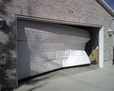 1000 images about damaged garage doors on pinterest for Garage door repair temecula