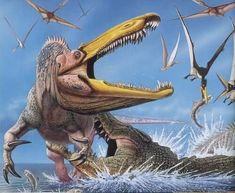 El Suchomimus: la bestia con más de 100 dientes curvos