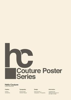 Hello Couture (with Love 22) on the Behance Network