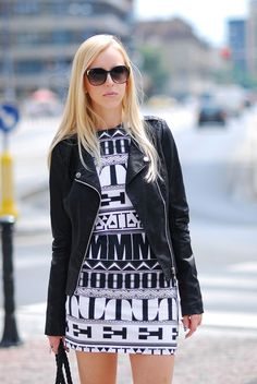 MERI WILD BLOG MODA ♥: Stories From The City: Black & White
