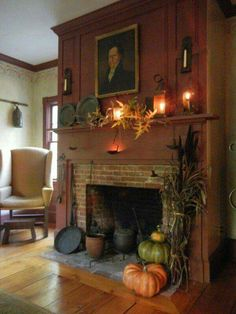 Mantle, fireplace