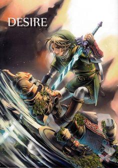 Legend of Zelda Doujinshi - Desire (Link + Hero's Shade (Ancient Hero))