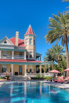 This is one of my favorite places to be on earth, so I want this one to be my dream home in Key West. Casa Cayo Hueso, Key West, Florida...The Southernmost home in the continental USA