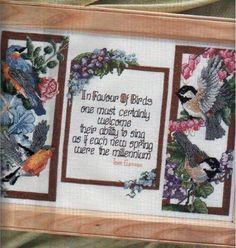In Favor of Birds Cross Stitch Bird, Cross Stitch Animals, Bird Feathers, Beautiful Birds, Needlework, Projects To Try, Wings, Butterfly, Fancy