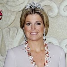 Queen Emma Diamond Tiara worn by Princess Maxima, Netherlands