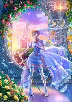 Beautiful Fantasy Art by Takaki | Cuded