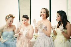 how adorable are these retro maids?!