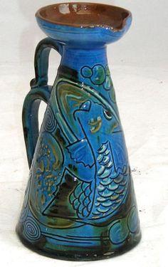 Brannam Barum N Devon Jug with Sgraffito Fish Dated 1900   eBay