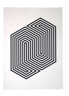 Geometric Maze.  #Optical #Illusions #ShermanFinancialGroup