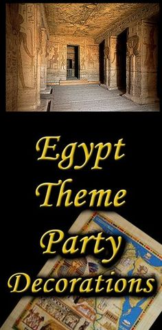 When planning an Ancient Egypt theme party, it can be difficult to transport your guests back in time - with these Ancient Egypt theme party ideas, you'll be off to a great start. Diy Egyptian Decorations, Diy Party Decorations, Halloween Party Themes, Halloween Ideas, Egyptian Themed Party, Baby Girl Shower Themes, Baby Shower, Prom Decor, Mystery Parties