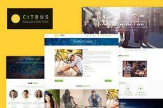 Citrus - One Page HTML5 Parallax Portfolio by BuddhaThemes