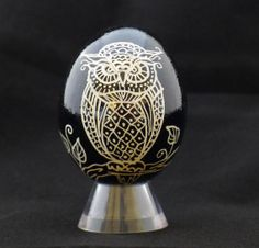 Owl Egg by PJRCreative on Etsy, $20.00