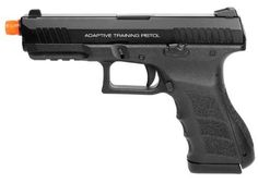 KWA ATP Adaptive Training GBB Airsoft Pistol airsoft gun by KWA. $129.95. Features: Semiautomatic Realistic construction and field stripping NS2 gas delivery system Metal slide Polymer lower receiver Adjustable Hop-Up ... KWA ATP Adaptive Training Gas Blowback Airsoft Pistol, NS2 Gas Delivery System...