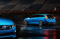 """The New Volvo V60 Polestar.  Love the design and 350hp AWD drivetrain. While the """"Swedish racing blue"""" looks great, it just isn't my style."""