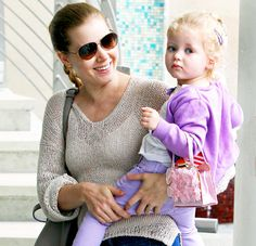 Amy Adams says her 3-year-old daughter Aviana has a crush on her Man of Steel costar Henry Cavill.