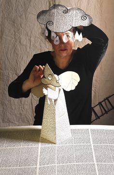 Puppets Paper, Animación Lectura, Galia Levy Grad, Dolls Ceramics, Chelem Legend