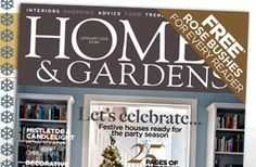 My favorite magazine for decorating...at the moment!