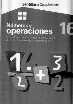 Números y operaciones 16 - Iniciación a las fracciones