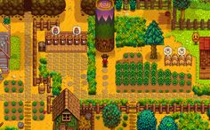 Stardew Valley: Looks good, too childish and too pixel. Pixels make the items and environment confusing.