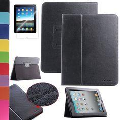 Pandamimi ULAK(TM) Magnetic PU Folio Leather Case Cover with Built-in Stand for Apple iPad 1 1st Generation + Screen Protector (Black) by ULAK, http://www.amazon.com/dp/B00DBSFWTC/ref=cm_sw_r_pi_dp_q3Igsb0QDM8YR