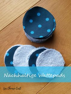 Nachhaltige Wattepads – selbstgemacht – Well come To My Web Site come Here Brom Diy Mode, Money Saving Mom, Feminine Hygiene, Cotton Pads, Couture, Diy Storage, Mom And Baby, New Moms, New Baby Products