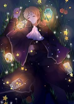 Holy Roman Empire #hetalia <--- That isn't Norway?  I was trying to look at his temple, but it's kinda blurry....