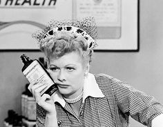 """I Love Lucy. """"Lucy Does a t.v. Commercial"""""""