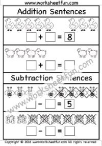 mixed addition subtraction 5 worksheets subtraction. Black Bedroom Furniture Sets. Home Design Ideas