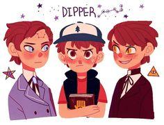 Poor real Dipper. REVERSE DIPPER BIPPER!! GO AWAY!