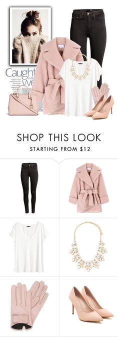 """Fashion pink"" by raquel-t-k-m ❤ liked on Polyvore featuring мода, H&M, Carven, Forever 21, Mario Portolano и Michael Kors"