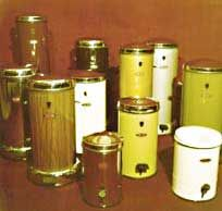 Erpa waste bins from the 70s