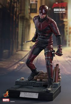 Hot Toys Delivers Big Time On Their 'Daredevil' Figure