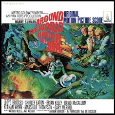 """""""Around The World Under The Sea"""" (1966, Monument).  Music from the movie soundtrack."""