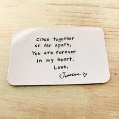 close together wallet card 2