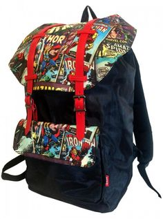 """Retro Comic"" Urban Backpack by Marvel 