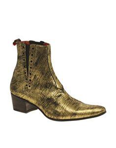 Jeffery West Muse Cuban Heel Chelsea Boots