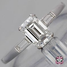 Antique Engagement Ring - Certified Art Deco