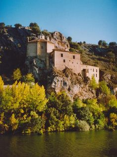 One of my favorite places. San Saturio in Soria, Spain where I lived for 3 years