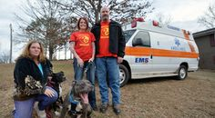 Donated ambulance to be animal transport vehicle for rescue group