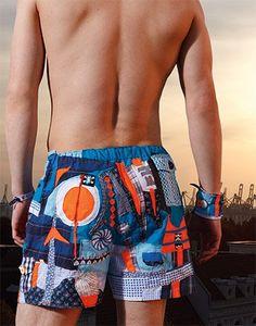 kostenloses Schnittmuster Boxershorts  eine Nummer grösser als Sporthose