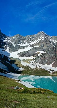 Cracker Lake is located in Glacier National Park, in the U. S. state of Montana…