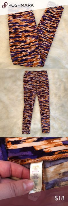 Lularoe OS Leggings One Size Leggings from Lularoe. Gently worn and in excellent condition. LuLaRoe Pants Leggings