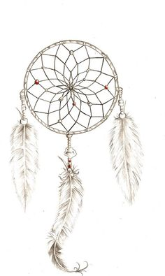 Dream Catcher Outline Amazing Dream Catcher Tattoo On Ribs  Google Search  Tattoos  Pinterest Design Decoration