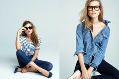 Un Café avec Vogue: J.Crew Denim Campaign 2012 with Behati Prinsloo