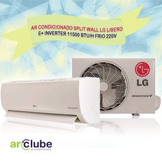 """Preço e informações: http://www.arclube.com.br/ar-condicionado-split-wall-lg-libero-inverter-11500-btu-h-frio-220v.html   -- Ar Condicionado Split Wall LG Libero E+ Inverter 11500 btu/h Frio 220v >>  """"Muito mais economia de energia. Resfriamento rápido. Maximiza o conforto do usuário. Ultrasilencioso. Ionizador Ion Care +. Respire saúde. Filtro multiproteção LG com tecnologia 3M. Instalação rápida e fácil."""""""